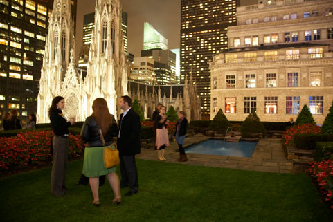 Rockefeller Center's Loft & Garden became a temporary grazing ground for NYC foodies.
