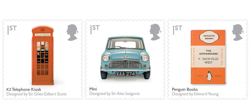 Goodlifer: British Design Classics Stamps