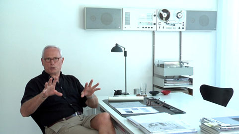 Dieter Rams, German design guru.