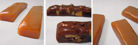 Caramels come in many interesting flavors, among them Single Malt Scotch, Salted Chocolate Nut & Wildflower Honey.