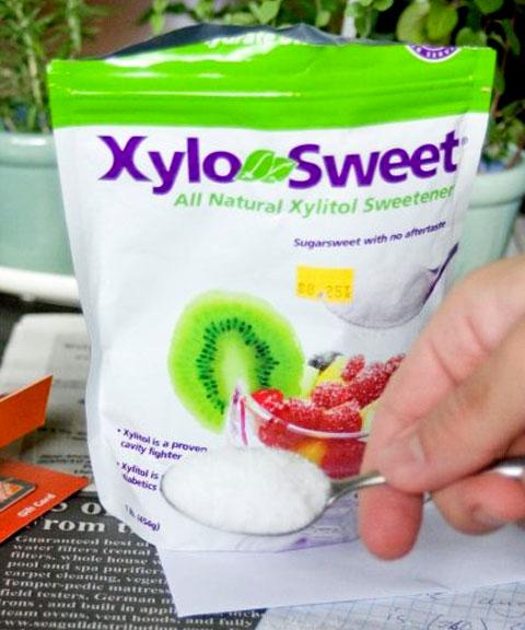 Xylotol, a natural sugar alternative, that also tastes good!