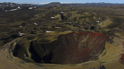 "Lakagigar volcanic system, Iceland (64°07'N - 18°14'W). © ""HOME"" – an ELZEVIR FILMS – EUROPACORP coproduction."