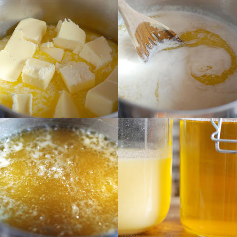Making ghee is a complicated process, but if you feel inclined to try it, the blog A Smart Mouth has a good recipe.