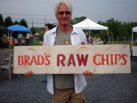 Brad Gruno, at the Linden Hills Farmers Market.