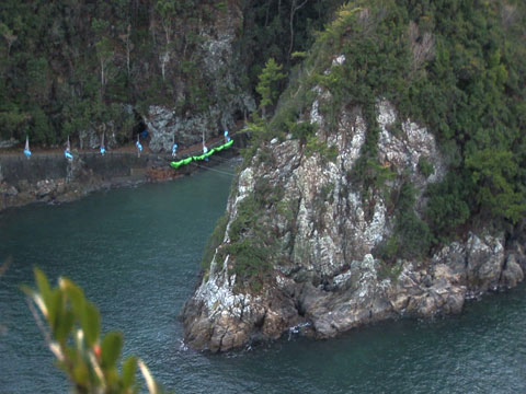 The hidden cove outside Taiji, Japan.