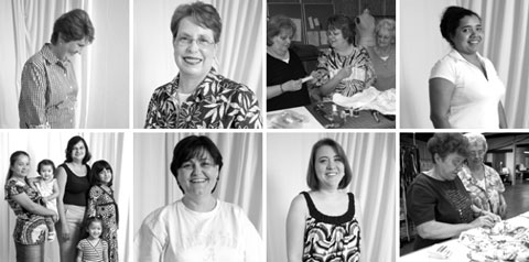 Alabama Chanin garments are made by over 30 skilled local artisans — mothers, brothers, sisters, daughters, husbands, and wives, friends and lovers...