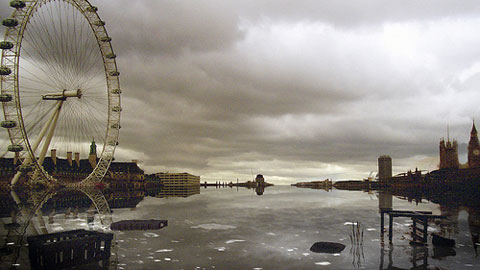 What a post-climate catastrophe London may look like.