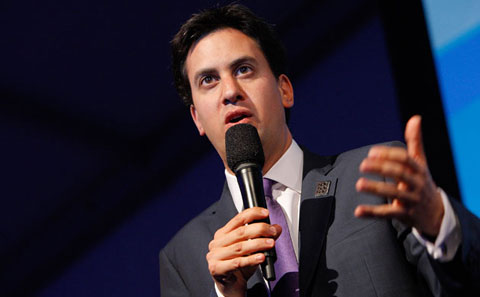 "Ed Miliband, UK Secretary of State for Energy and Climate Change, was criticized by Franny Armstrong on stage for with a watered-down climate deal only ""giving us a 50/50 chance."""