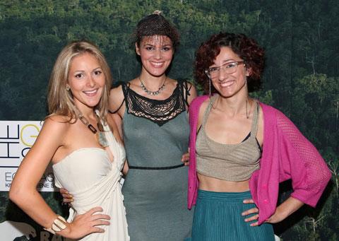 Olivia Zaleski, Summer Rayne Oakes & Bahar Shahpar. ©Patrick McMullan Photo - WILL RAGOZZINO/PatrickMcMullan.com.