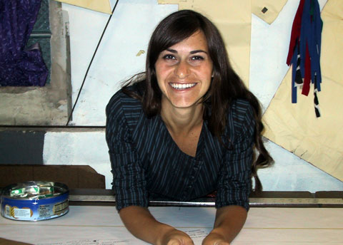 Designer Lara Miller.
