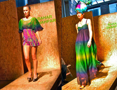 Bahar Shahpar S/S 10. Photo by Meaghan O'Neill, via Treehugger.com.