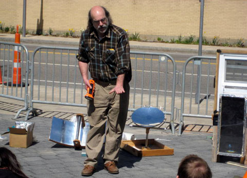Simple Solar workshop with George at the Boston Skillshare.