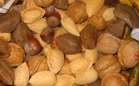 A bowl of nuts for the entire season.