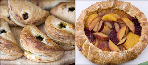 Cherry and Apple Turnovers & Mixed Fruit Galette.