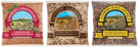 Wild Rice: Christmas Rice, Wild Blend & Black Japonica.