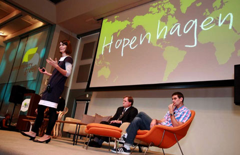 Freya Williams of Ogilvy Earth wants to turn Copenhagen into Hopenhagen.