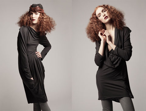 Cowl Tiaga dress & Tiaga top (which works excellently as a dress).