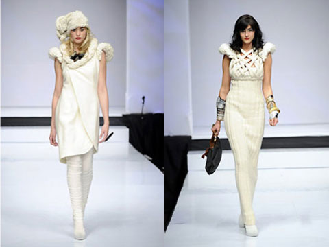 Pieces from the Fall Winter 09 collection.