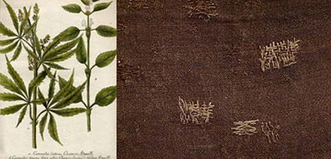 Organic hemp textiles are deeply rooted in American tradition and are a favorite of Heron's.