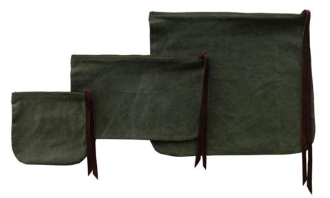 Environment by Heather Heron Essential Pouches.