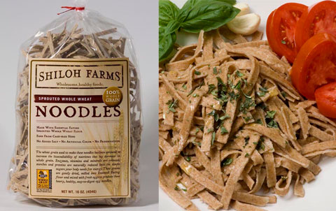 Shiloh Farms Sprouted Whole Wheat Egg Noodles.