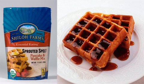 Shiloh Farms Sprouted Pancake & Waffle Mix.