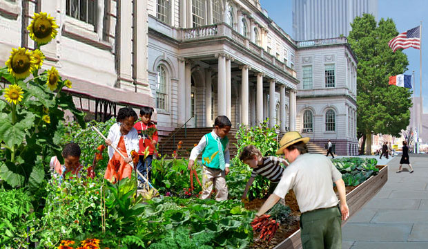Goodlifer: Who wants a garden at City Hall?