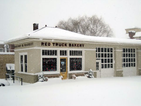 The newly opened bakery in Old Town Warrenton, Virginia.