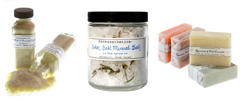 Farmaesthetics herbal skincare products can be found on Futurenatural.