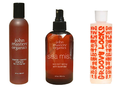 John Masters Organics and Nature Girl - natural hair products from the site.