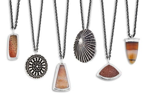 A few of Muenster's beautiful necklaces.