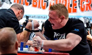 Goodlifer: Rob Bigwood - Vegan Arm Wrestler