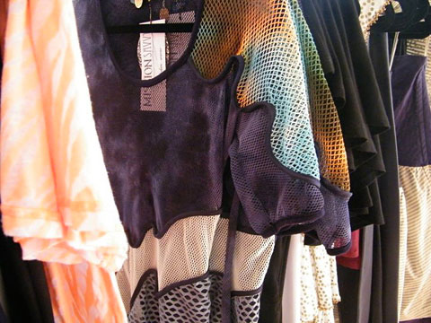 Sustainable fashion on the racks at Mission Savvy.