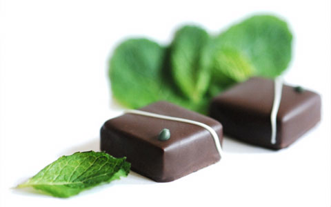 Besides the Sun Cups, Seth Ellis makes several other delectable treats. Their mint ganache is made with fresh organic cream infused with peppermint and spearmint, organic butter and organic dark chocolate.