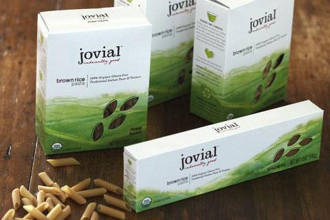 Jovial's Brown Rice Pasta.