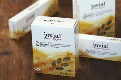 Jovial Einkorn Pasta is available in a variety of shapes.