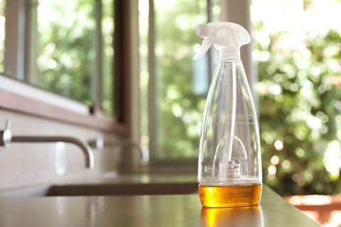 Replenish is one company making good non-toxic household cleaners.