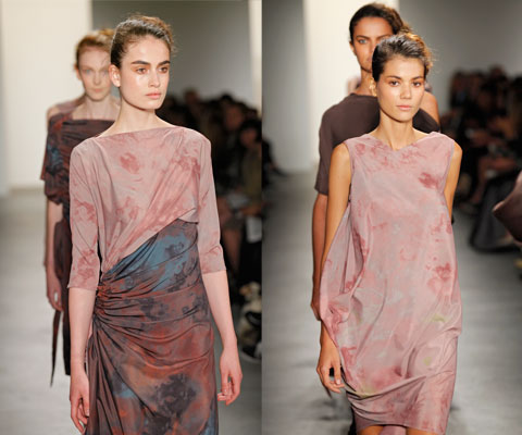 Fast-rising fashion stars Costello Tagliapietra, who just won the CFDA/Lexus Eco-Fashion Challenge award, pioneered the use of AirDye in high-fashion in their S/S 2010 collection.