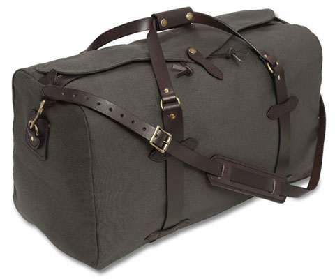 Bags from outdoor brand Filson are often spotted in decidedly non-outdoorsy places like Manhattan's Meatpacking district these days.