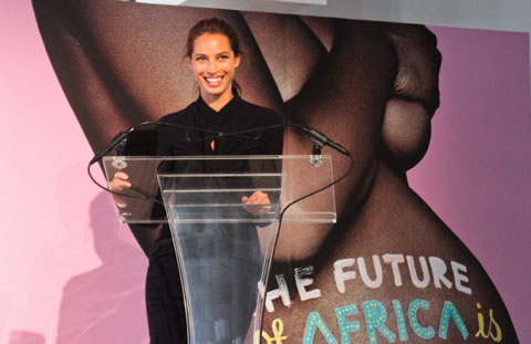 "Christy Turlington has just completed a documentary about maternal health in developing nations - ""No Woman No Cry."""