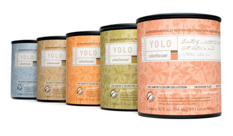 Low or zero-VOC paints, like these from Yolo Colorhouse, ensure you can breathe easier.