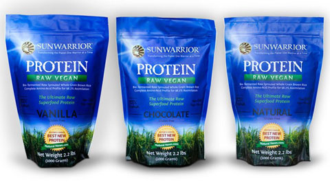 Sunwarrior is the highest-quality (non soy) raw whole grain sprouted vegan protein on the market. And it's yummy too.