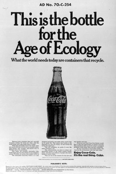 Greenwashing, 1970s-style. 40 years later, advertisers are still talking about the same things.