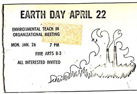 Goodlifer: Earth Day 1970 ticket