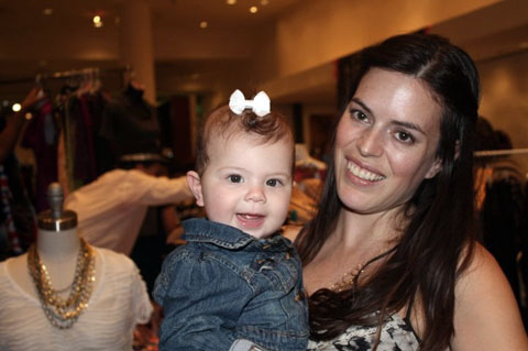 Jessica Althoff, founder of Future:Standard, with her niece.