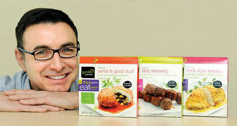 Gardein founder Yves Potvin. Photograph by Chung Chow, Richmond News.