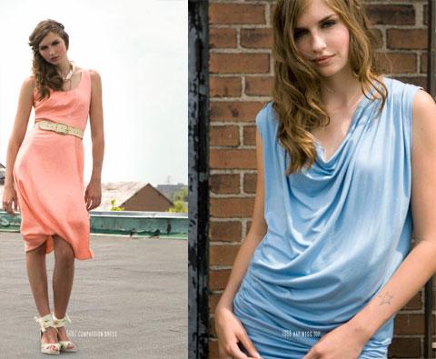 Nicole Bridger Compassion Dress & Happiness Top.
