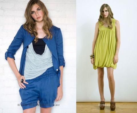 Nicole Bridger Trust Tank, True Short Short, Uplifting Jacket and Power Dress.