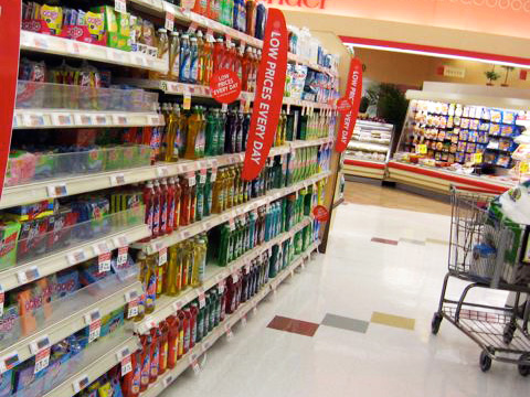 Learn to find the good cleaning stuff in your supermarket aisle. Look for the green Eco-Scale label.