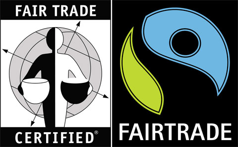 There are lots of different Fair Trade labels out there, but these are the main two to look for when you are shopping.